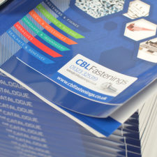 Printed catalogues to advertise your products to customers.
