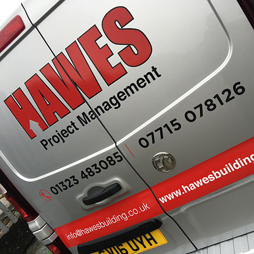 Vinyl Van Signwriting