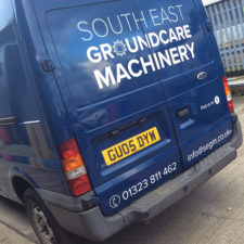 Simple yet effective vehicle graphics designed, printed and installed by us.