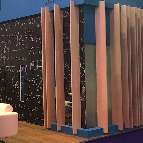 Custom Wallpapers to suit your brand and exhibition stand.
