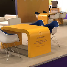 Vinyl is the ideal solution for branding Exhibition Stands.