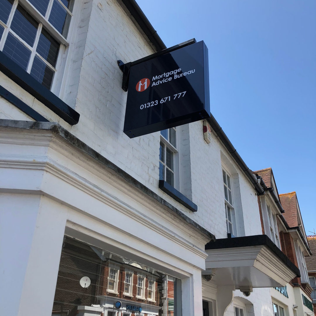 Mortgage Advice Bureau opens with new signage in Hailsham