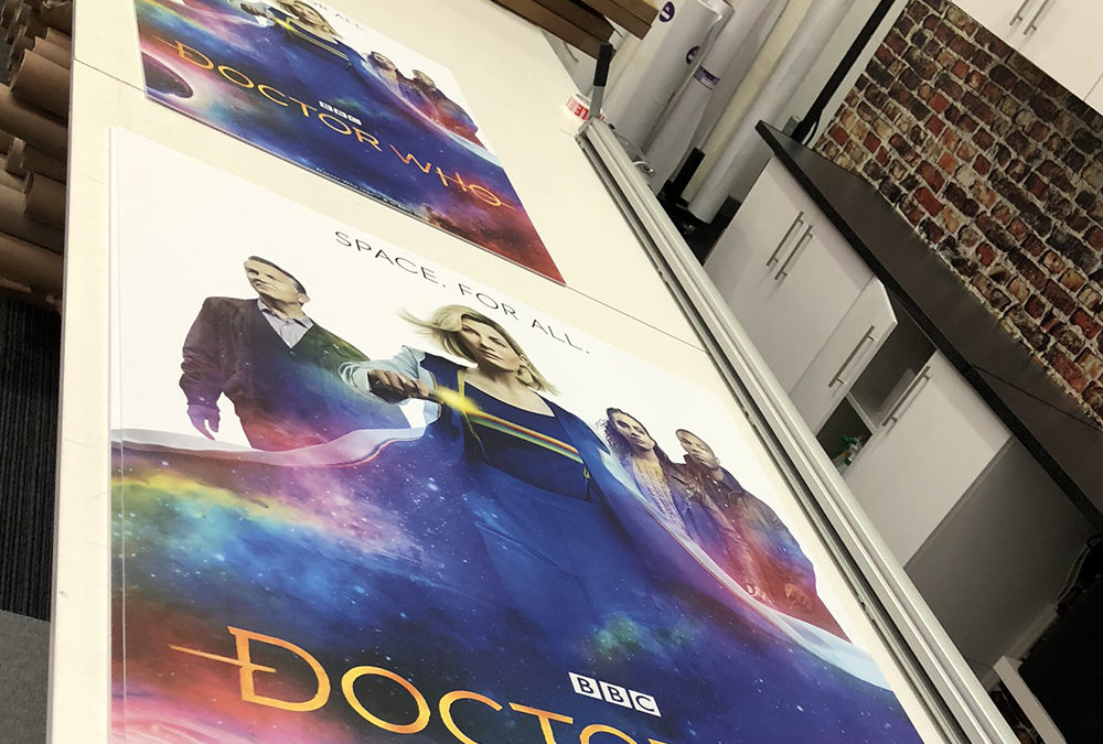 Forbidden Planet's poster boards go 'green'